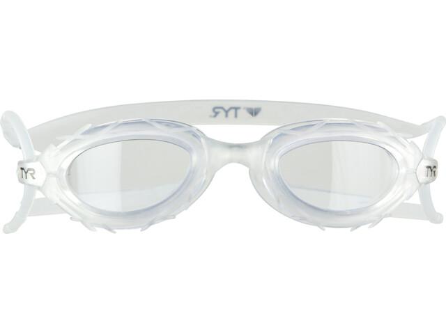 TYR Nest Pro Okulary pływackie przezroczysty